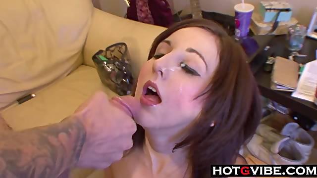 EMO Teen Amateur Couple Fuck on Camera