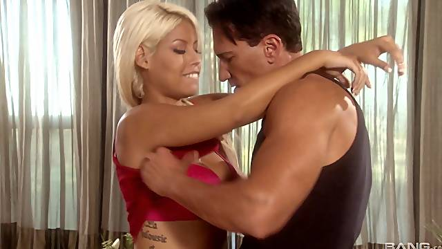 a blowjob and gentle kissing before hard fuck is a rule for Bridgette B