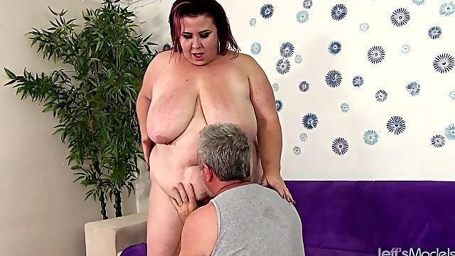 Fat Mature Redhead Lady Lynn Gets Railed