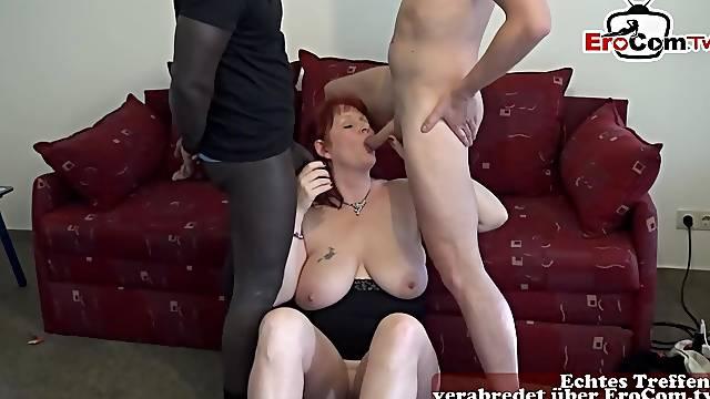 german big natural tits mom homemade threesome