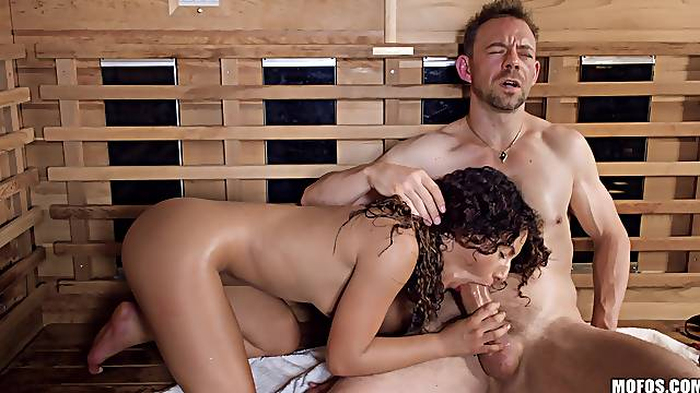After amazing blowjob in the spa center Liv Revamped is ready for sex