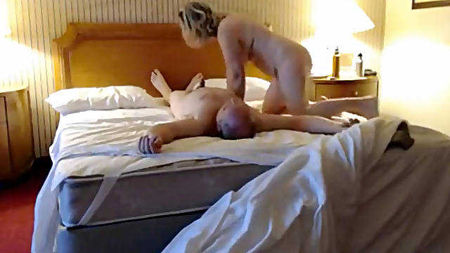 A hidden camera bedroom video starring my 58 years old  wife with her new lover.