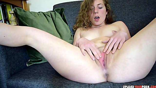 Amazing chick spreading her pussy and dirty talk for you