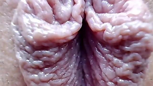 Close up masturbation and fingering of my girlfriend hot pussy