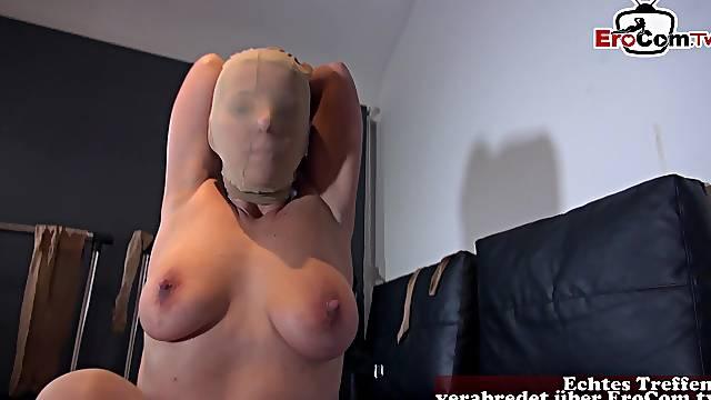 German anal nylon milf fuck in pantyhose