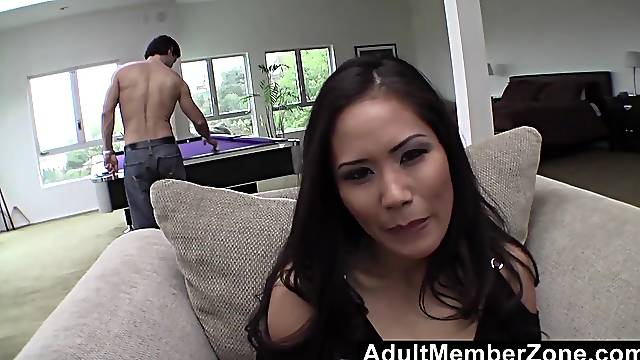 Jessica Bangkok Banged On the Couch