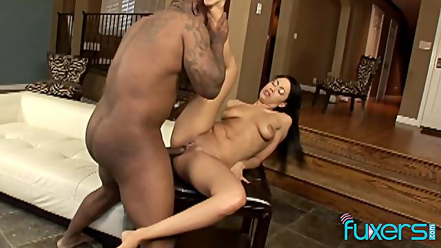 Latina Summer Bailey anal with her BBC buddy