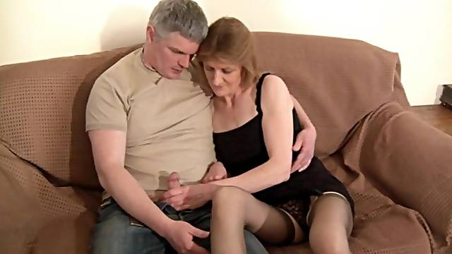 Pussy licking leads to wild fucking with adorable mature wife Cee