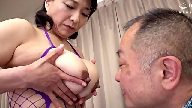 Homemade amateur video of mature Tokita Kozue getting fucked