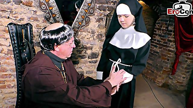 German teen nun virgin seduced