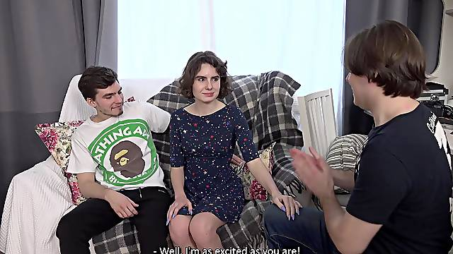 Cuckold boyfriend watches his GF Darcy Dark getting fucked