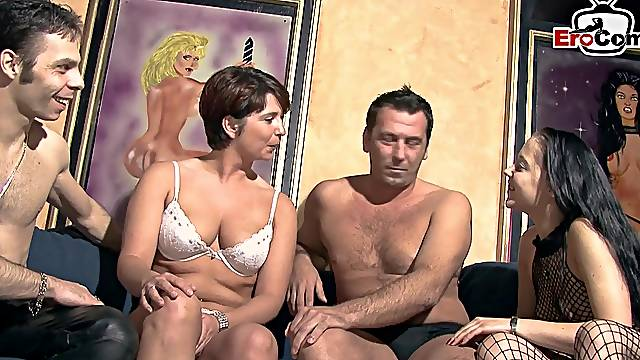 German couple swinger orgy groupsex