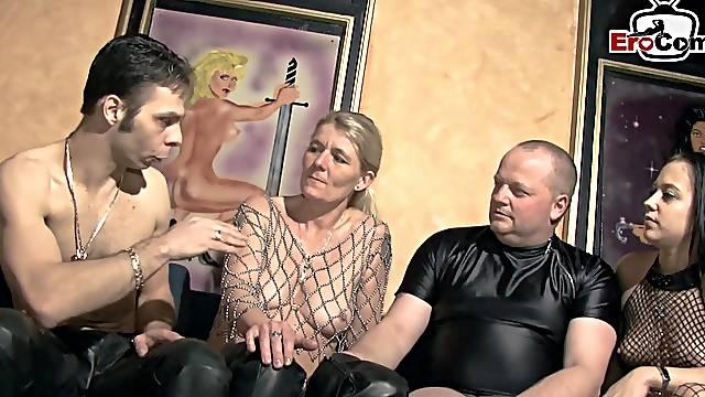 German amateur swinger couple meeting