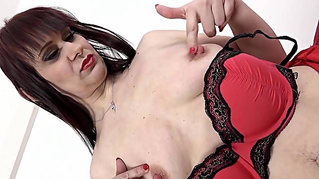 Hardcore interracial anal sex with dirty mature Vera Delight