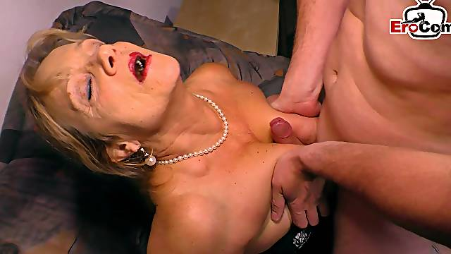 German big boobs blonde mature milf fuck