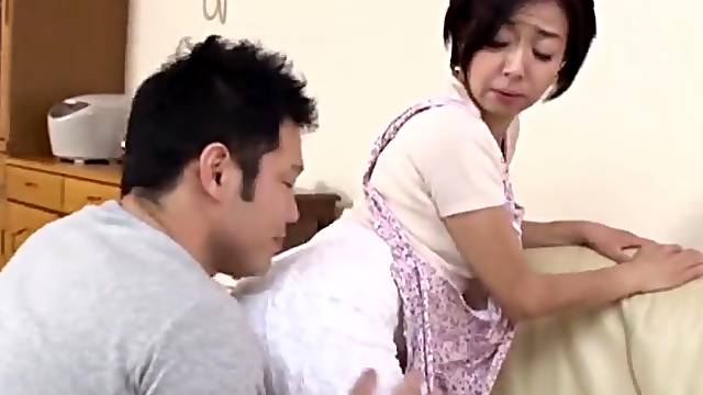 Balls deep throat fucking with a cock hungry Japanese neighbor