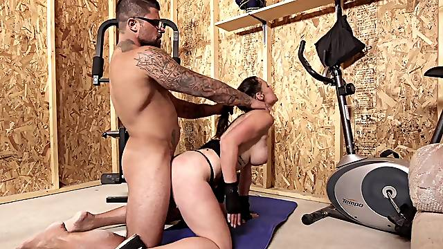 Hardcore pussy and ass fucking with dirty mature wife Tanya