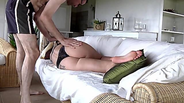 German blonde big tits chubby milf fuck