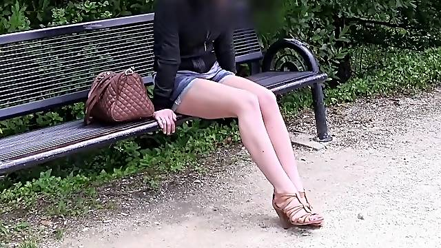 Shy 19 old girl does porn casting