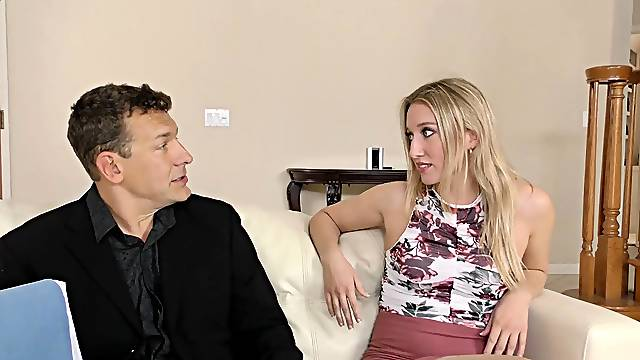 Riding a big load of dick pleases Riley Reyes more than anything