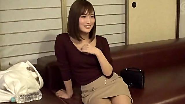 Horny Japanese cutie drops her dress to be fucked balls deep