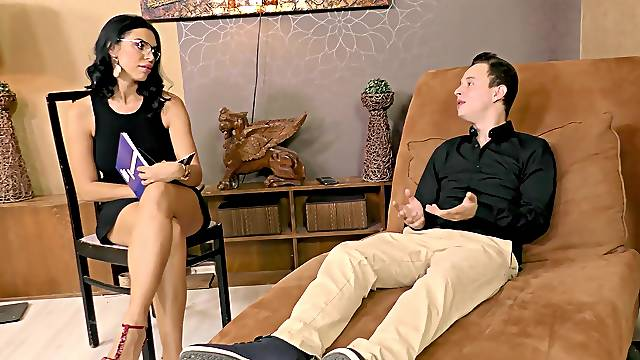 Rough dicking with Kira Queen wearing high heels and her BF
