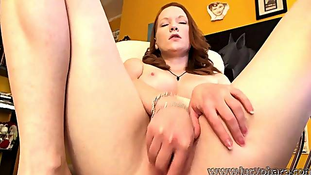 Lucy Gets Tickled By The Tentacle  - Lucy ohara