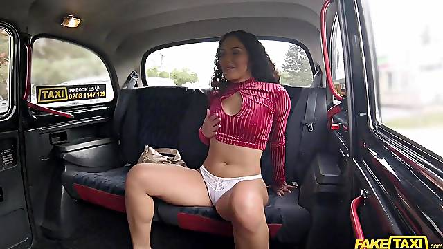 Curly-haired beauty takes Georges cock deep in her wet cunt