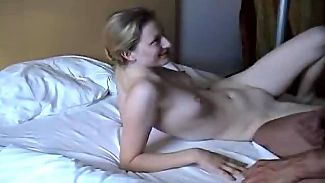 Tall skinny girl fucked in homemade video