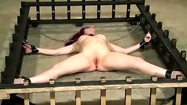 Chained And Made To Orgasm