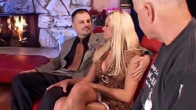 Blonde Swinger Wife is So Fine!