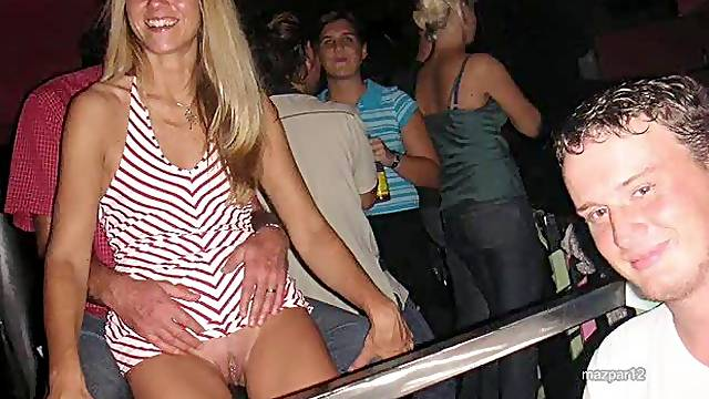 Upskirt slide with pictures