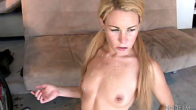 Lots of jizz hungry sluts featured in a cumshot compilation