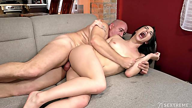 Sexual delight with a senior man on Viagra