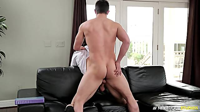 Gay lovers in full 69 oral play before trying anal