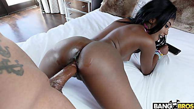 Bedroom XXX shows black doll craving for more