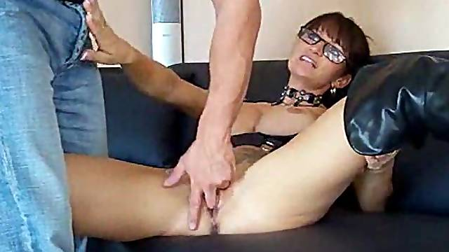Horny German wife likes his anal sex