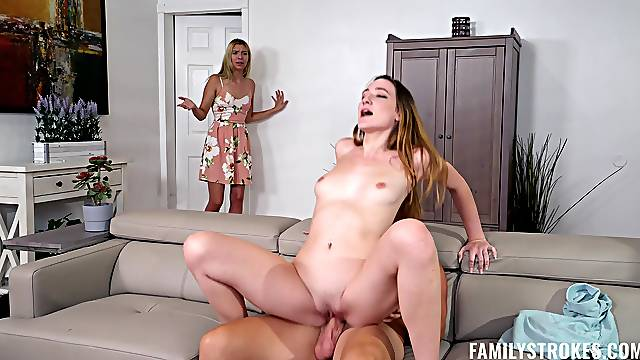 Closeup video of passionate FFM threesome with Everly Haze & Sophia Sweet