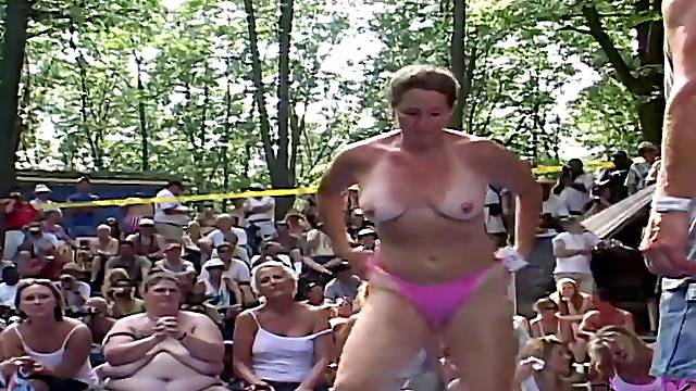 Contest At Nudist Resort Gets Out Of Hand