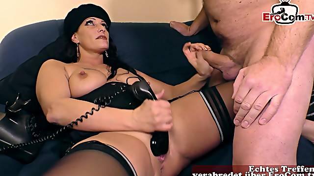 German femdom mature with big tits