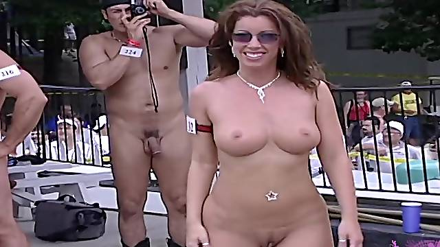Big Tits And Gyno Pussy Shots At Nudes A Poppin filmed at the Ponderosa Sun Club