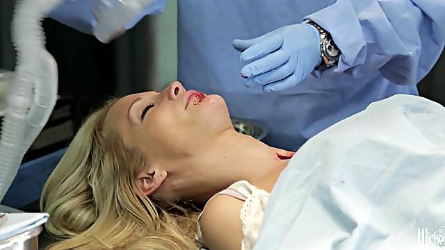 Blond Jessica gets drugged and immerses in sexual dreams