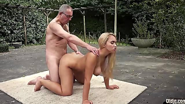 Old Young Babes, Big Natural Juicy Tits & Young boobs fuck