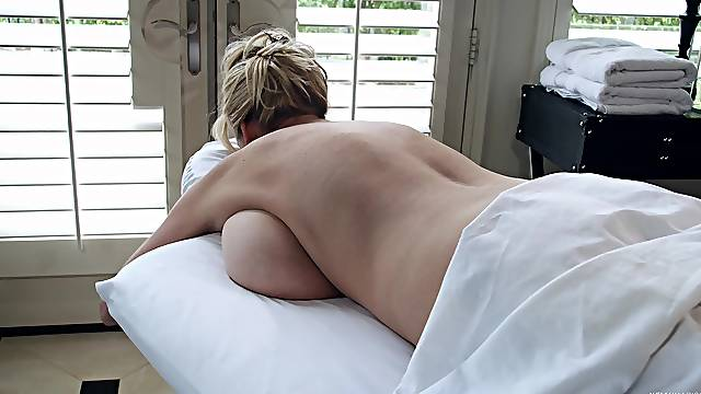 Kelly Madison cannot resist a handsome hunk's touch