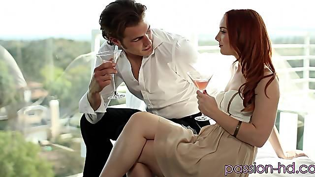 Naughty Dani Jensen gets talked into pleasuring a horny  friend
