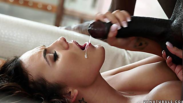 His black cock was all Vanessa Decker needed to reach an orgasm