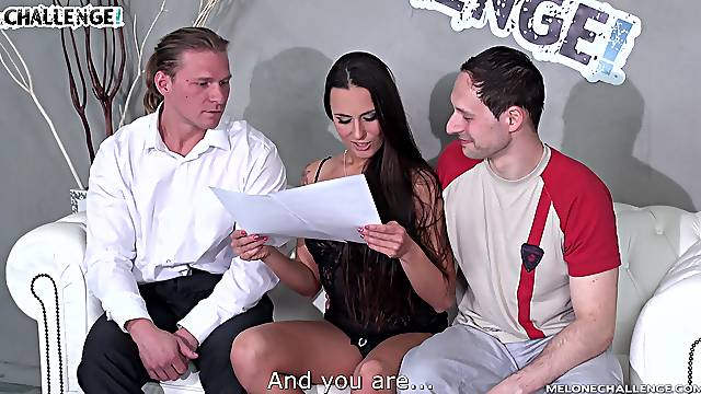 Mea Melone gets her asshole creampied after a hardcore anal fuck