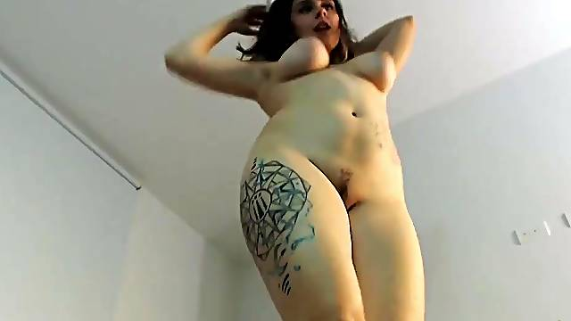 Big Boobs Hooker Rubs Her Tight Pussy And Clit