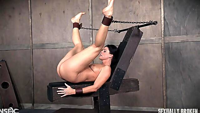 Mature experienced slave India Summer can't wait for her abuse