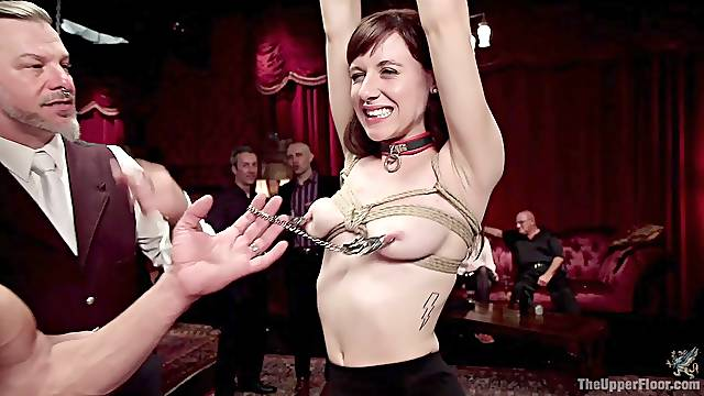 Bondage experience and torture are priceless for hot Audrey Holiday